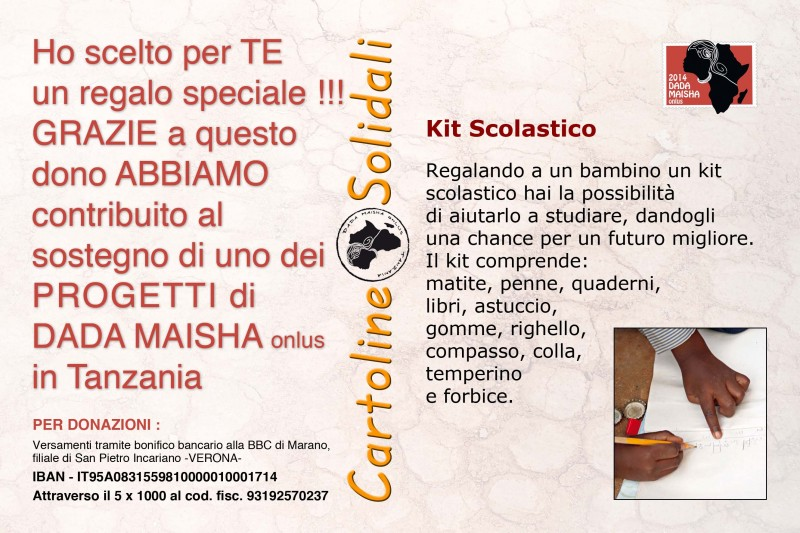 carto kit scolastico